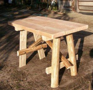 Cleft bench