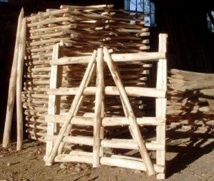 Chestnut hurdles