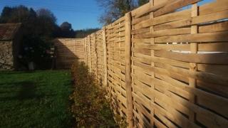 Cleft lath panels